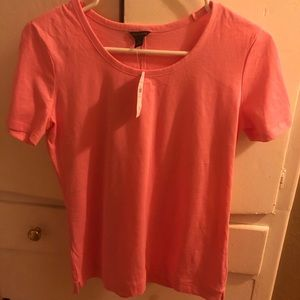 Ann Taylor Pima Cotton Scoop Neck Tee size XS
